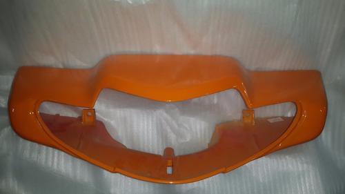 Cubre Opticas Motomel Eco 70-110 Naranja - 2r