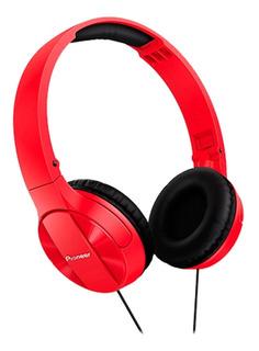 :* Audífonos Pioneer Se-mj503 Rojo