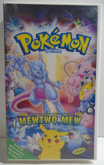 Fita Vhs Pokémon O Filme Mewtwo Vs Mew Pikachu Vhs
