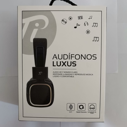 Audífonos Lexus On Ear Black Nuevo Musicovinyl