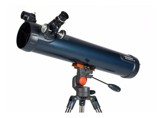 Telescópio Refletor Astromaster Lt 76az Celestron Original