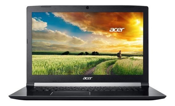 Notebook Gamer Acer I7 16gb 256ssd+2t 1060 6gb Tela 17,3 Fhd