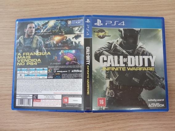 Call Of Duty Infinite Warfare Ps4 Seminovo Imperdivel