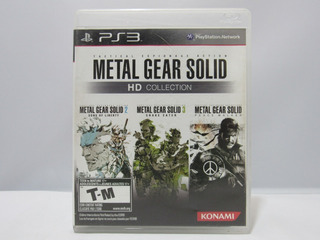 Metal Gear Solid Hd Collection - Ps3 ¡usado-fisico!