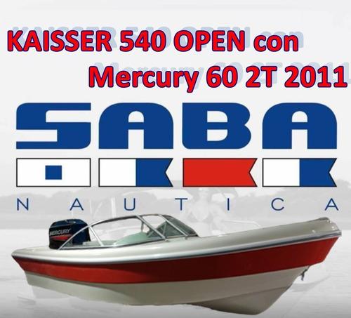 Imagen 1 de 1 de Kaisser 540 C/ Mercury 60 2t