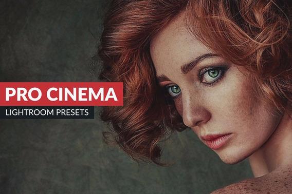 Preset Lightroom Pro Cinema Pacote 8 Preset