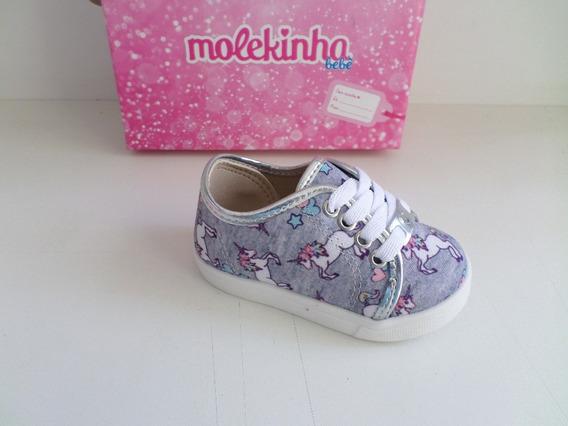 Tênis Infantil Feminino Molekinha Ref-2118.300
