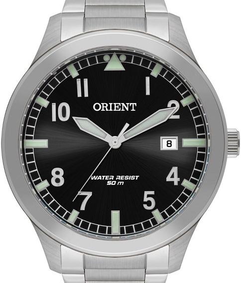 Relógio Orient Masculino Prata - Mbss1361 P2sx