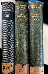 Machado De Assis Obra Completa Em 3 Vols Da Nova Aguilar #