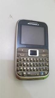 Celular Motorola Ex 117 Para Retirar Peças Os 18515