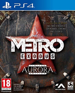 Ps4 Metro Exodus Aurora Limited Edition