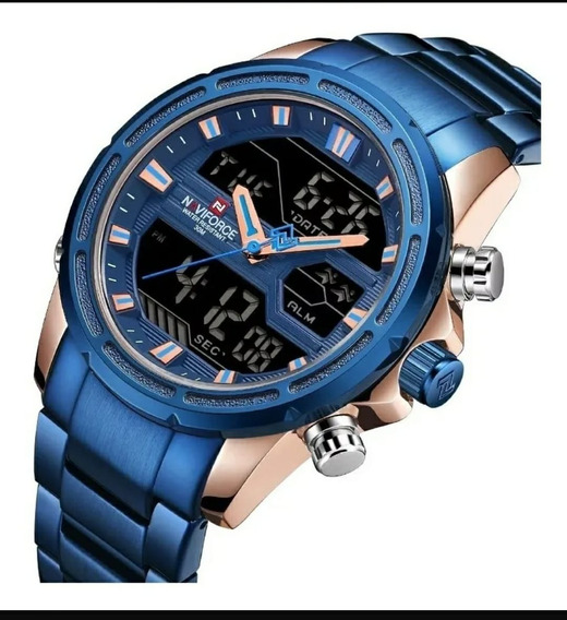 Relógio Naviforce Marculino Digital Original