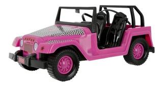 Jeep Auto Barbie Safari Con Stickers Mini Play 715