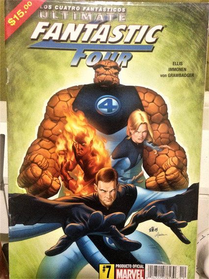Ultimate Fantastic Four # 7 Immonen . Marvel México