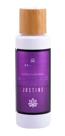 Aceite Afrodisíaco Masaje Corporal Justine 110ml Beohemp