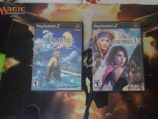 Final Fantasy X + X2 Ps2