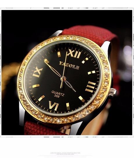 Relógio De Pulço Feminino Yazole - Quartz 359