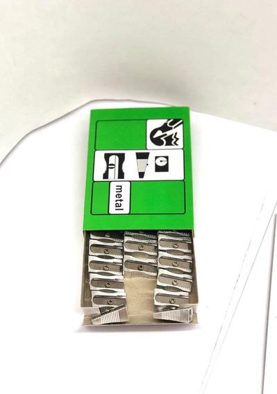 Sacapuntas Metal Metalico Rectangular Caja X 24 Unidades