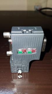 Conector Profibus 6es7 972 0bb52 0xa0 (9pza)