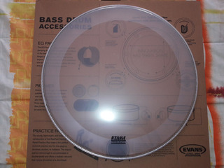 Parche Tama By Evans Eq4 Clear 20