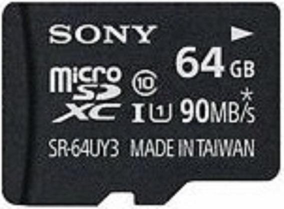 Miscro Sd Card Sony 64gb 90 Mb/s Ultra 10