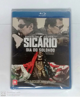 Bluray - Sicário Dia Do Soldado - Original - Lacrado