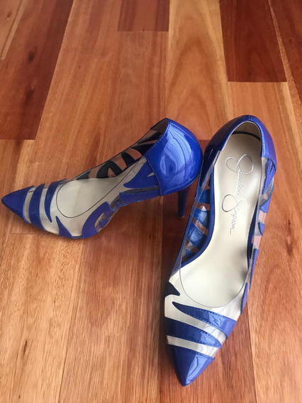 Zapatos, Stilettos Jessica Simpson! Un Solo Uso! Impecables