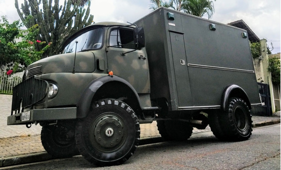 Motorhome 4x4 Mb Motorcasa Ñ Trailer Camper Mb Food Truck