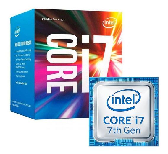 Kit Intel 7ª Geração I7 7700, 16gb Ddr4 , Asus B250 Plus