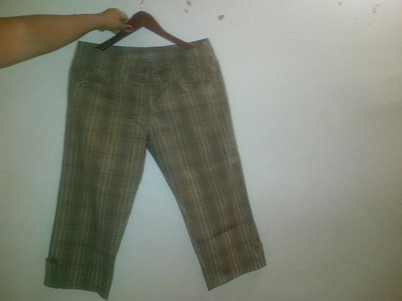 Pantalon Capri Para Dama Talla L