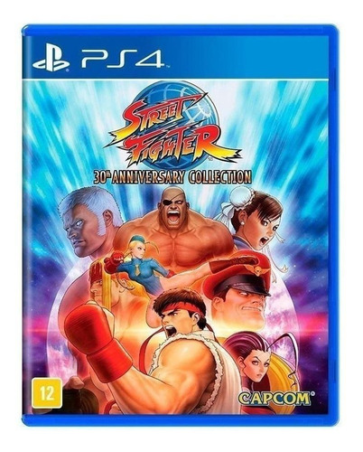 Imagen 1 de 5 de Street Fighter 30th Anniversary Collection Standard Edition Capcom PS4  Físico