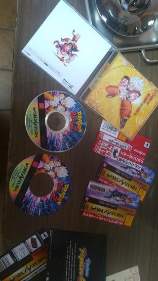 Caixa De Jogos Repro Sega Saturn
