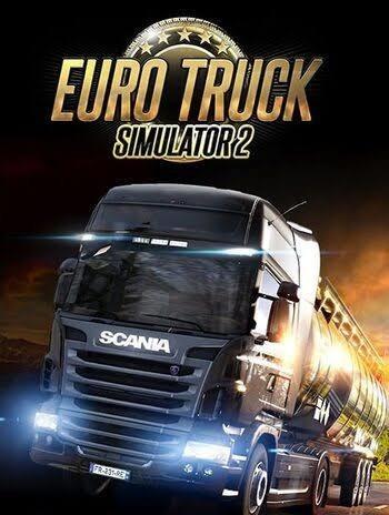 Imagem 1 de 1 de Euro Truck Simulado 2 +mods,mapas...