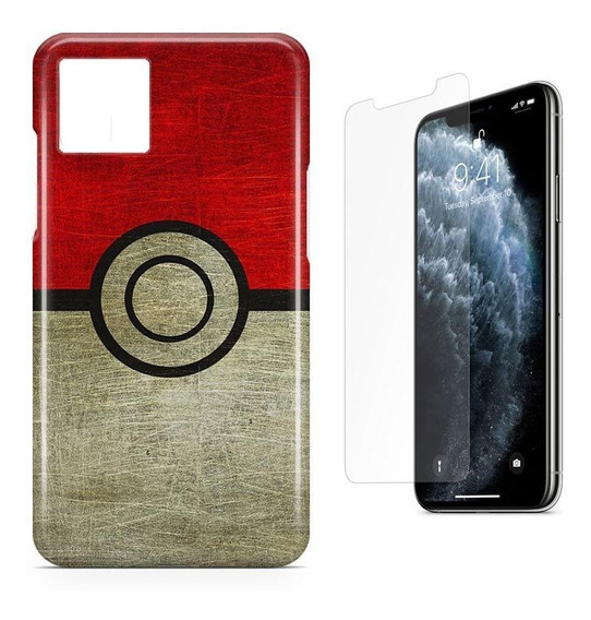 Kit Capa Case Tpu iPhone 11 - 6.1 - Pokémon Pokebola E Pel