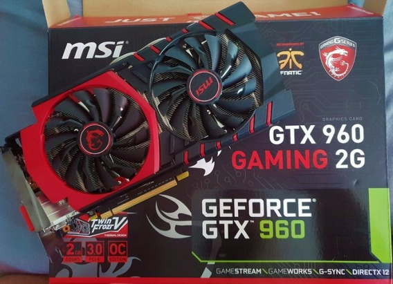 Placa De Video Nvidia Gtx Msi 960 Gaming Ddr5 2 Gb