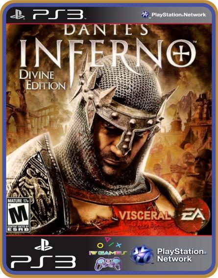 Dantes Inferno, Ps3, Psn, Mídia Digital Jogo Completo