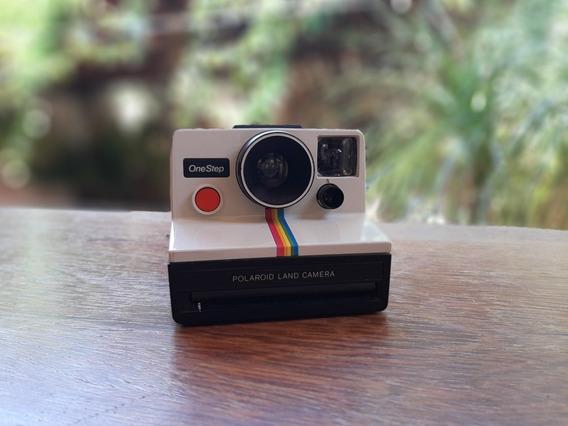 Câmera Antiga Polaroid Onestep