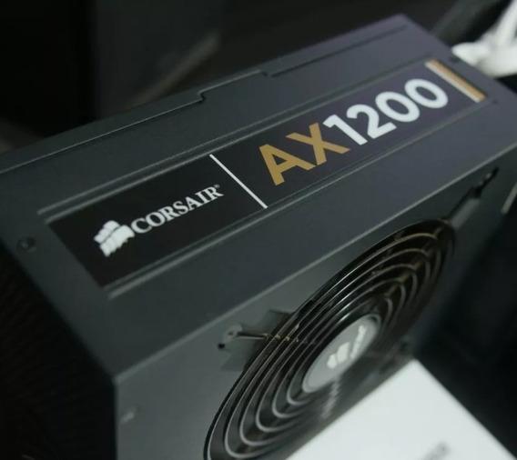 Fonte Corsair Ax1200 Gold 1200w