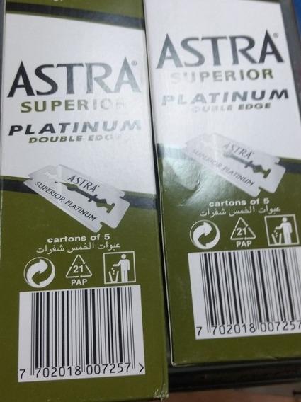 Lamina Astra Russa Original 2 Caixas, 200 Laminas Total