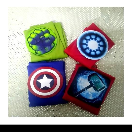 40 Capas Y Antifaz Superheroes Incluye Envio !!!