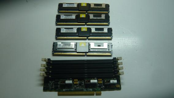 Kit 4gb 4x1 Ddr2 Para Servidor + Expansor De Memoria!!!
