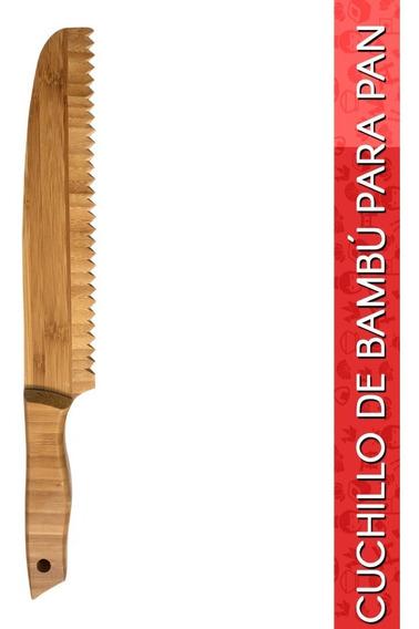 Cuchillo De Bambú Para Pan
