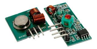 Módulo Rf Transmisor Receptor 433mhz - Arduino / Electroardu