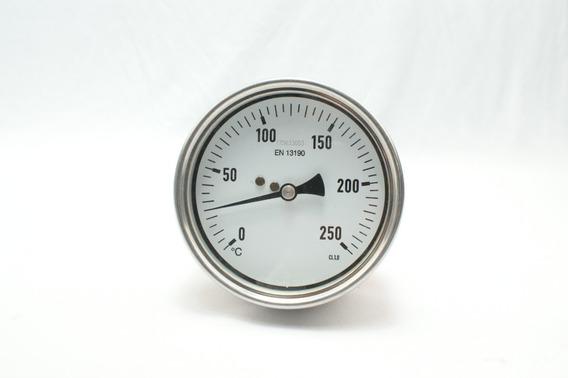 Termometro De Lamina Bimetalica Mercadolibre Com Mx Una termómetro de lámina bimetálica o termómetro bimetálico es un dispositivo para determinar la temperatura que aprovecha el desigual coeficiente de dilatación de 2 láminas metálicas de diferentes metales unidas rígidamente (lámina bimetálica). termometro de lamina bimetalica