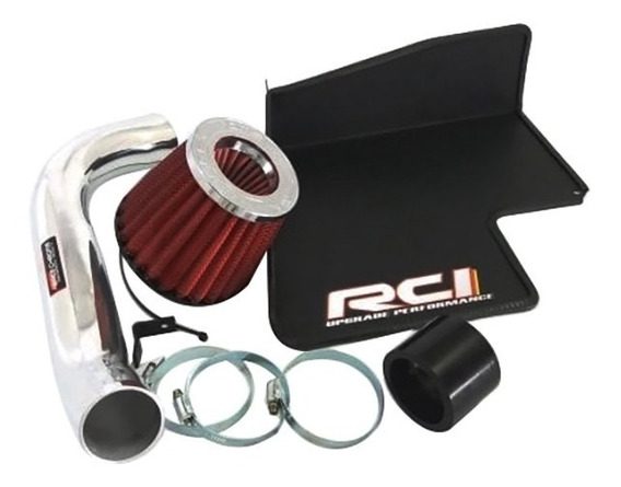 Kit Filtro De Ar Esportivo Race Chrome Golf Gti 2.0 Tsi