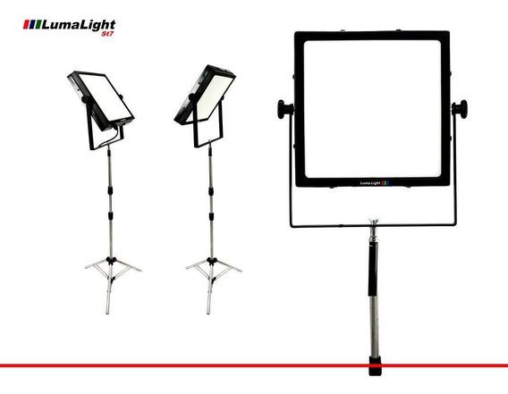 Luz Estúdio Kit Youtuber Só Ligar E Usar Barato
