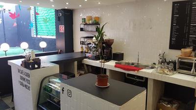 Local Equipado Para Cafeteria Por Cambio De Residencia