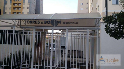 Apartamento Com 2 Dormitórios À Venda, 57 M² - Bonfim - Campinas/sp - Ap6458