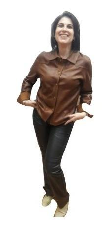 Camisa De Cuero Reversible Excelente Calidad Guns Leather