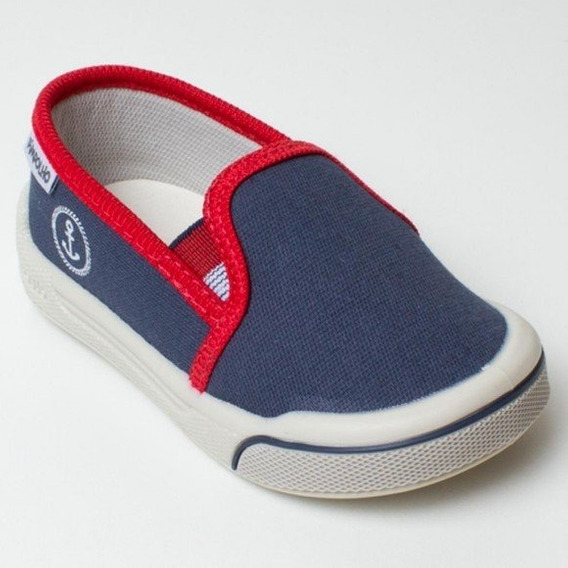 Tênis Infantil Menino Late Jeans Pimpolho Marinho 21 25 26